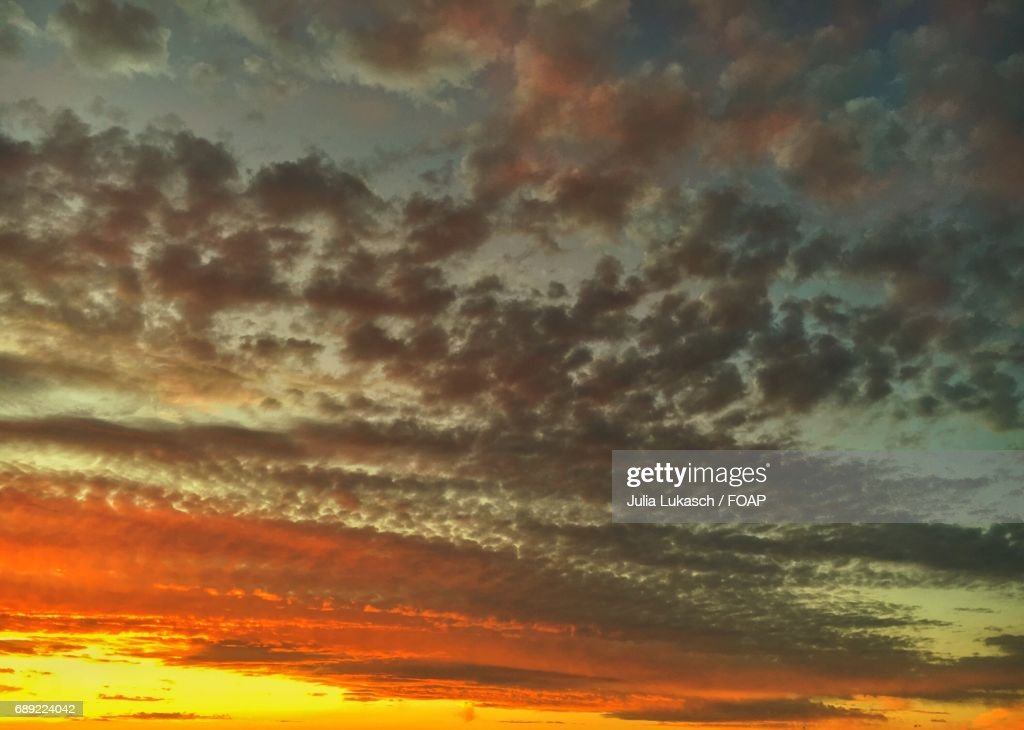 Low angle view of dramatic sky : Stock Photo