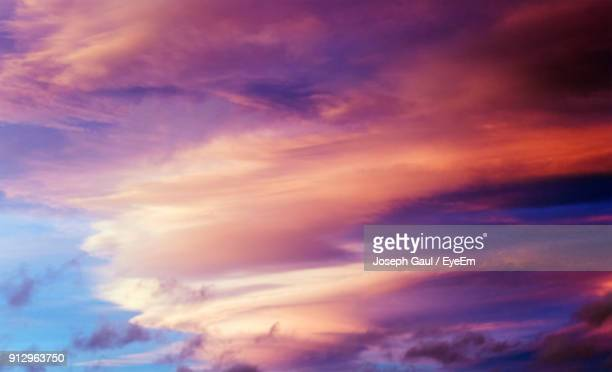 Low Angle View Of Dramatic Sky