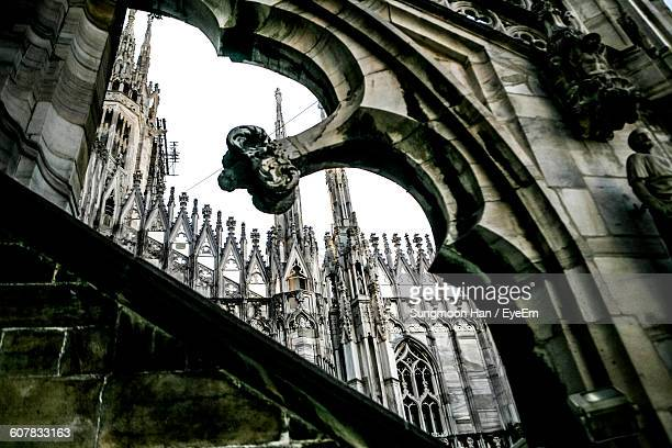 Low Angle View Of Duomo Di Milano In City