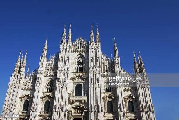 Low angle view of Duomo di Milano