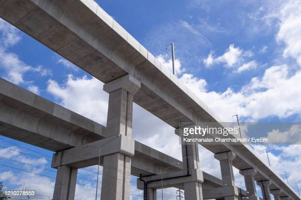 low angle view of elevated road against sky - beautiful bare bottoms stock pictures, royalty-free photos & images