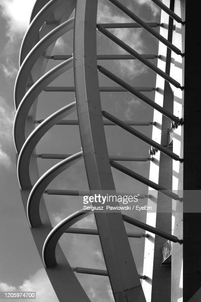 low angle view of ferris wheel - portsmouth england stock pictures, royalty-free photos & images