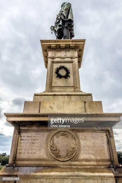 Low Angle View of Giuseppi Girabaldi Statue