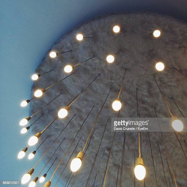 Low Angle View Of Hanging Lights