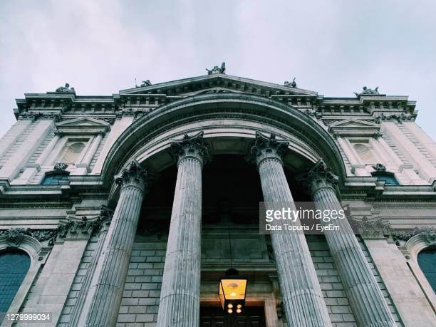low angle view of historical building against sky - data topuria stock pictures, royalty-free photos & images