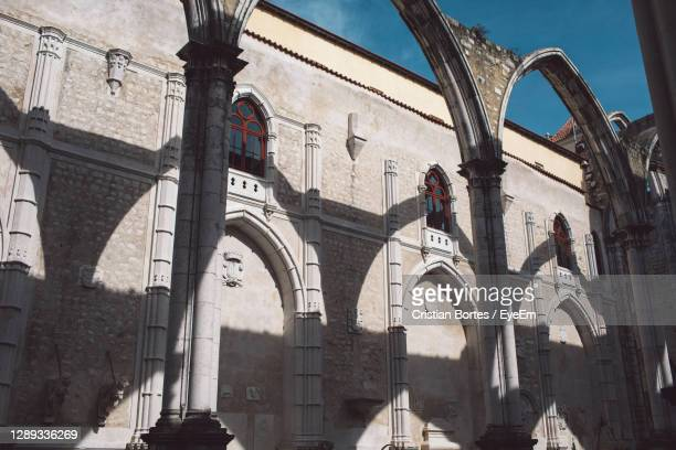 low angle view of historical building - bortes stock pictures, royalty-free photos & images