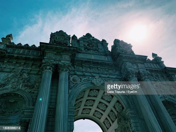 low angle view of historical building - data topuria stock pictures, royalty-free photos & images