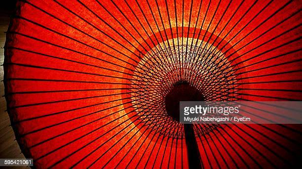 Low Angle View Of Japanese Umbrella