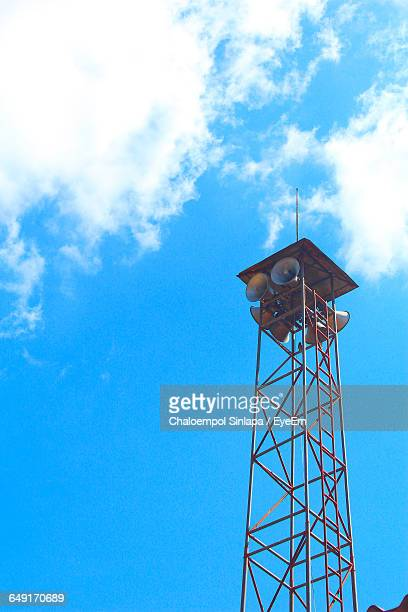 Low Angle View Of Lookout Tower Against Sky