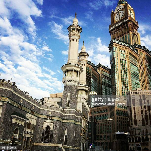 Low Angle View Of Makkah Clock Royal Tower Hotel