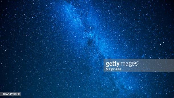 low angle view of milky way, canada - image stock pictures, royalty-free photos & images