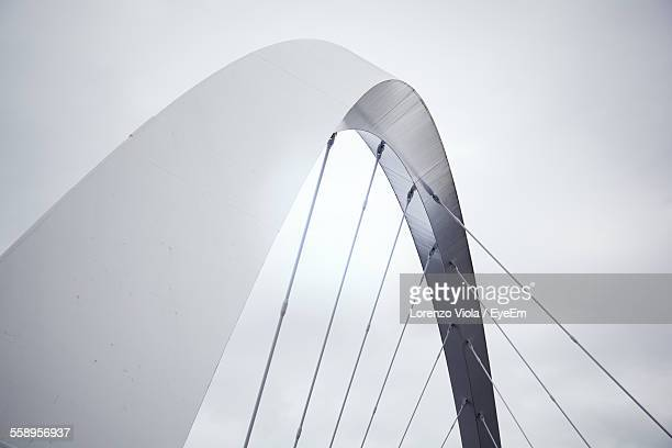 Low Angle View Of Modern Bridge Part