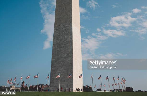 low angle view of monument against sky - bortes stock pictures, royalty-free photos & images