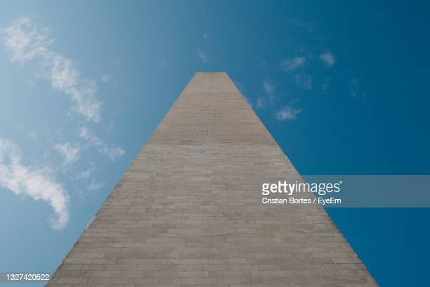 low angle view of monument - bortes stock pictures, royalty-free photos & images