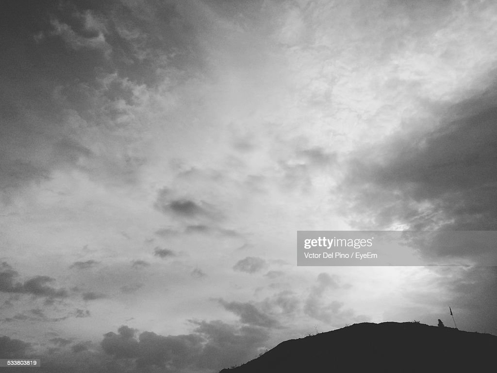 Low Angle View Of Moody Sky : Foto stock
