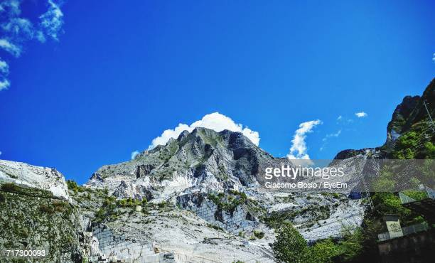low angle view of mountain range - massa stock pictures, royalty-free photos & images