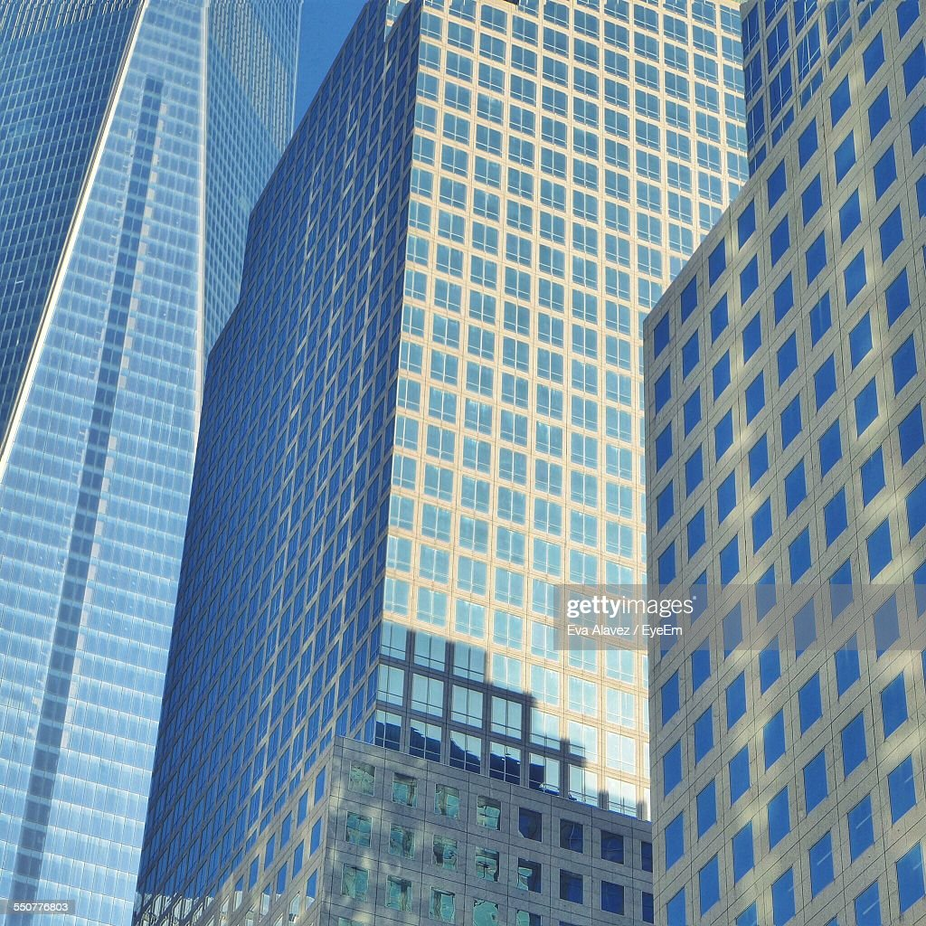 Low Angle View Of Office Buildings : Stock Photo