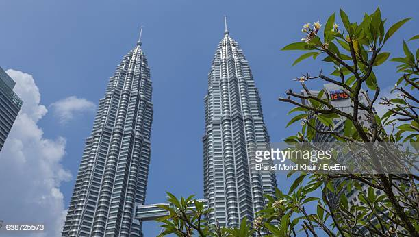 Low Angle View Of Petronas Towers