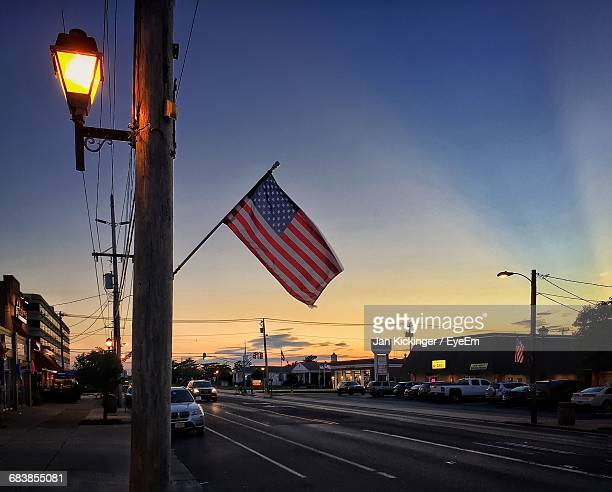 low angle view of road at dusk - land vehicle stock pictures, royalty-free photos & images