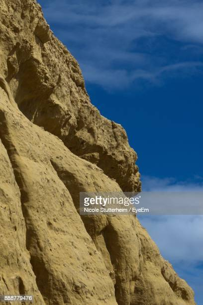 low angle view of rock formation against sky - stutterheim stock pictures, royalty-free photos & images