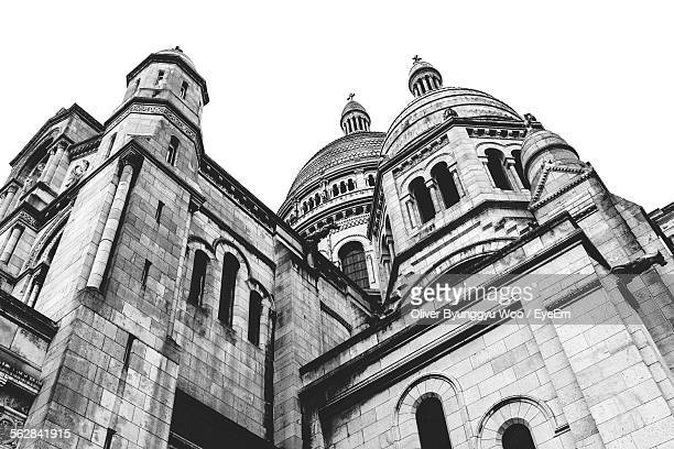 Low Angle View Of Sacre-Coeur Basilica Against Clear Sky