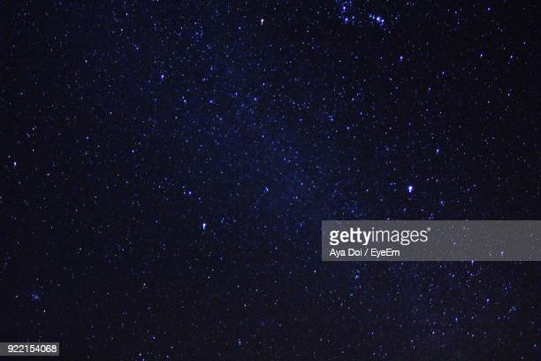 low angle view of scenic galaxy at night - space stock pictures, royalty-free photos & images