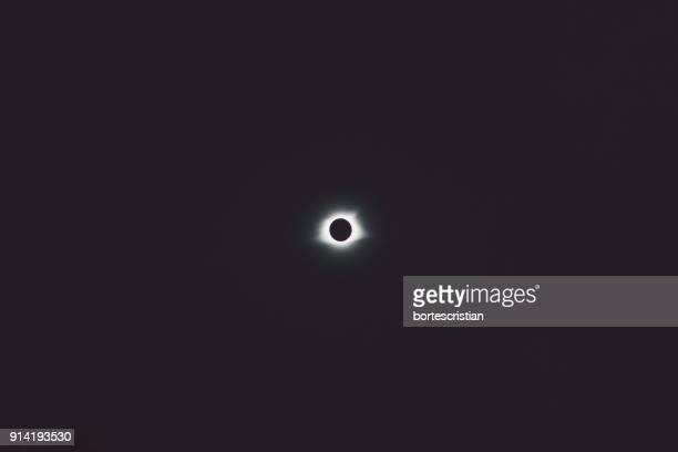 low angle view of sky at night - bortes stockfoto's en -beelden
