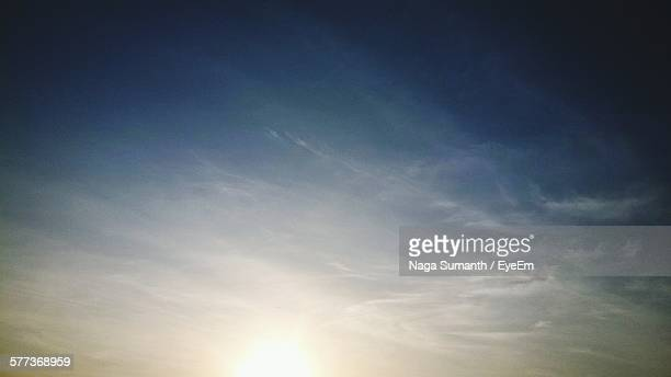 low angle view of sky at sunset - moody sky stock pictures, royalty-free photos & images