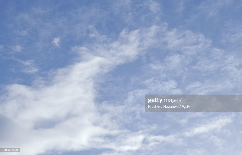 Low Angle View Of Sky : Stock Photo