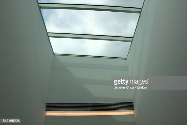 Low Angle View Of Skylight At Home