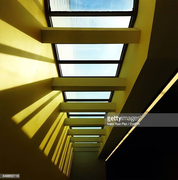 Low Angle View Of Skylights