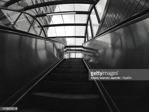 low angle view of staircase in building - japonês stock pictures, royalty-free photos & images