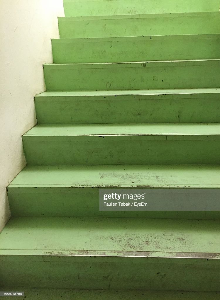 Low Angle View Of Stairs : Stockfoto