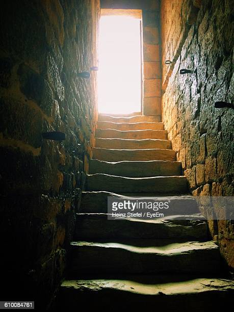 Low Angle View Of Stairway