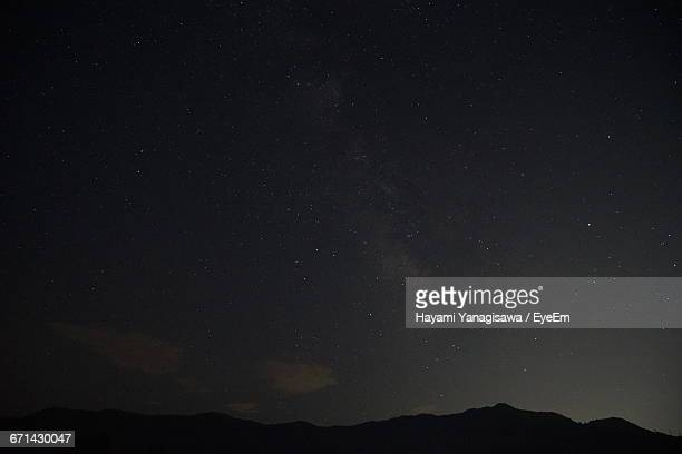 Low Angle View Of Star Field Against Star Field