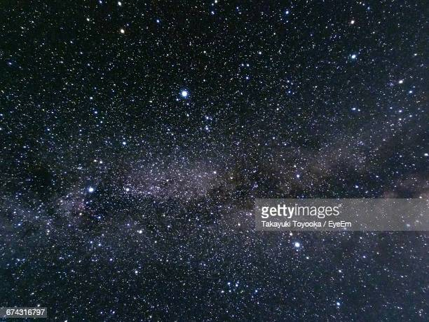 low angle view of star field against star field - 宇宙 ストックフォトと画像