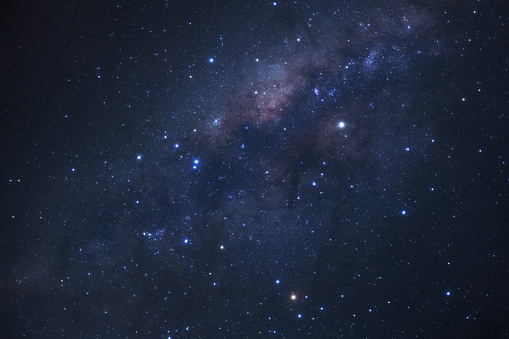 Low Angle View Of Star Field At Night - gettyimageskorea