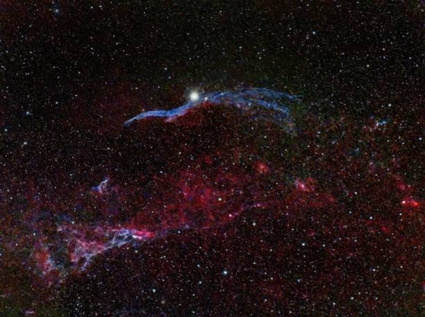 Low angle view of star field at night,San Antonio,Texas,United States,USA