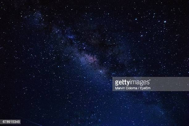 low angle view of star field - star space stock pictures, royalty-free photos & images
