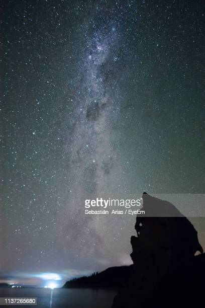 Low Angle View Of Stars At Night