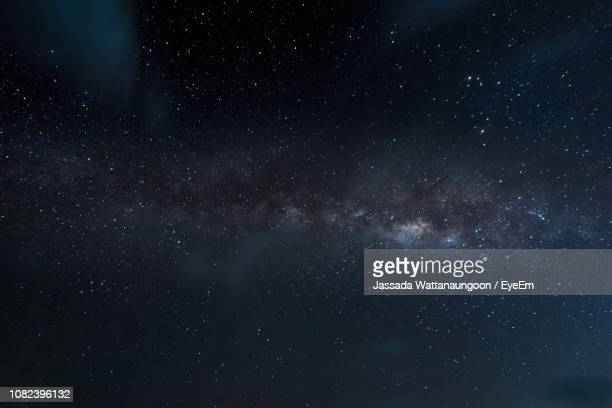 low angle view of stars in sky - space stock pictures, royalty-free photos & images