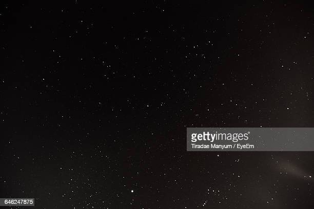 low angle view of stars in sky - star space stock pictures, royalty-free photos & images