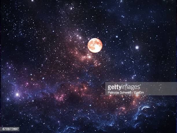 low angle view of stars in sky - star field stock pictures, royalty-free photos & images