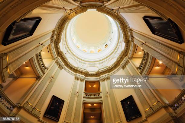 Low angle view of State Capitol dome, Atlanta Georgia, United States