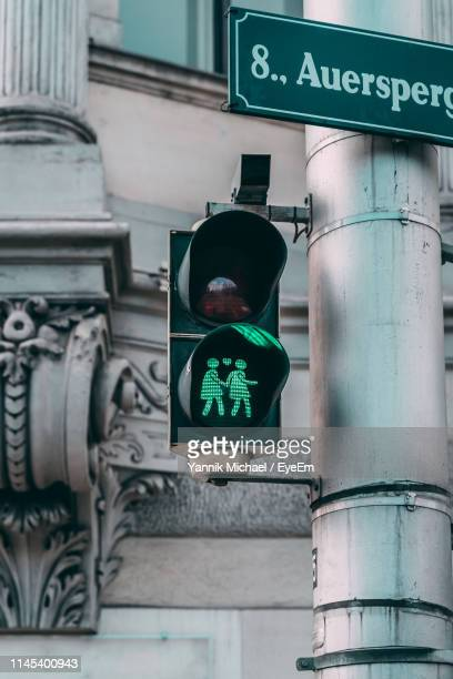 low angle view of stoplight - road signal stock pictures, royalty-free photos & images