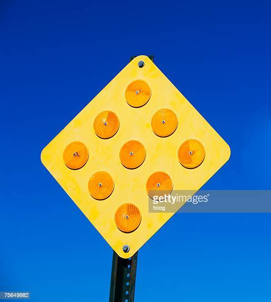 Low angle view of street sign