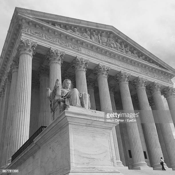 Low Angle View Of Supreme Court