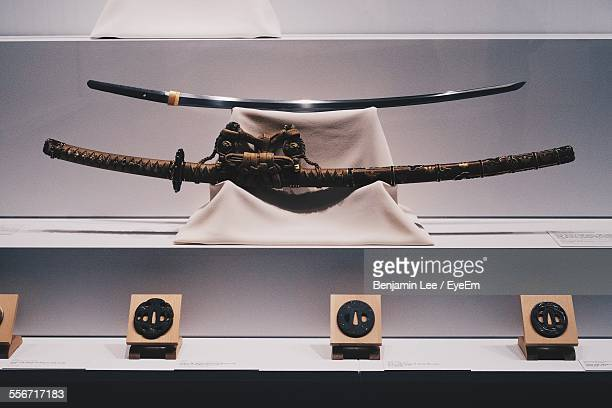 Low Angle View Of Swords