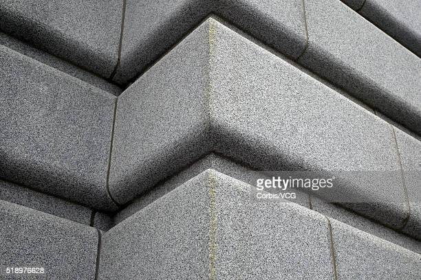 low angle view of the side of a building - vcg stock pictures, royalty-free photos & images