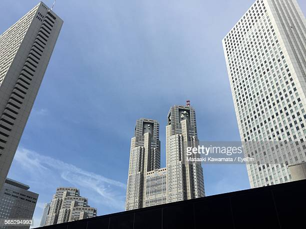 Low Angle View Of Tokyo Metropolitan Government Building Against Sky
